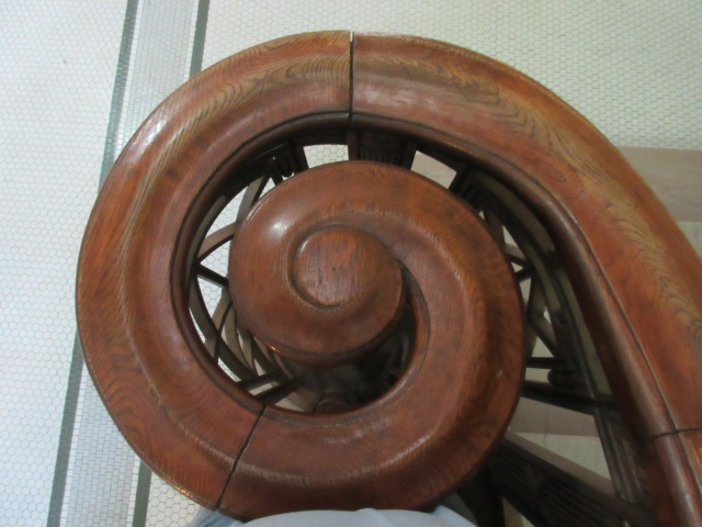courthouse railing